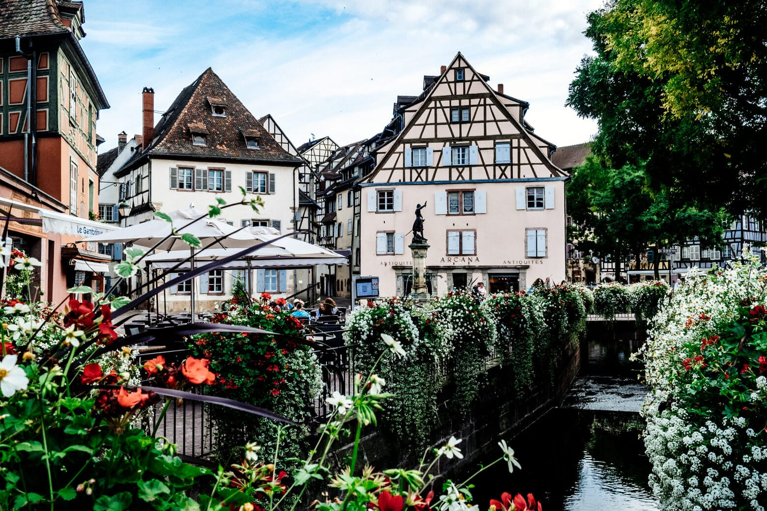 Colmar Canal in Spring