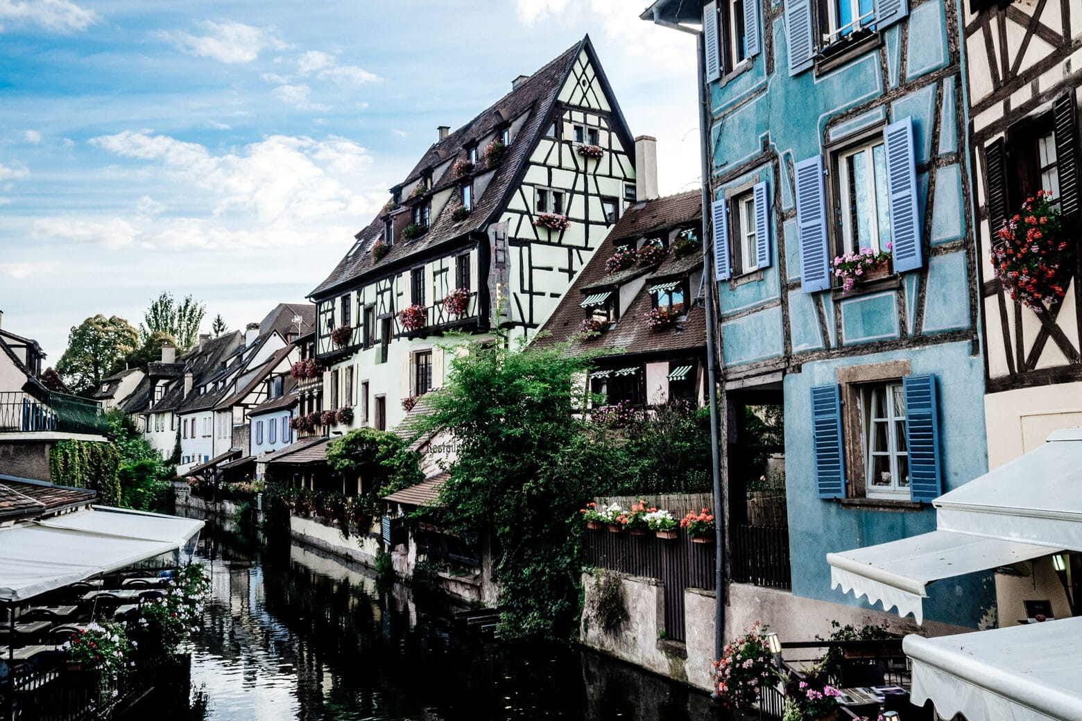 Blue House on Colmar Canal