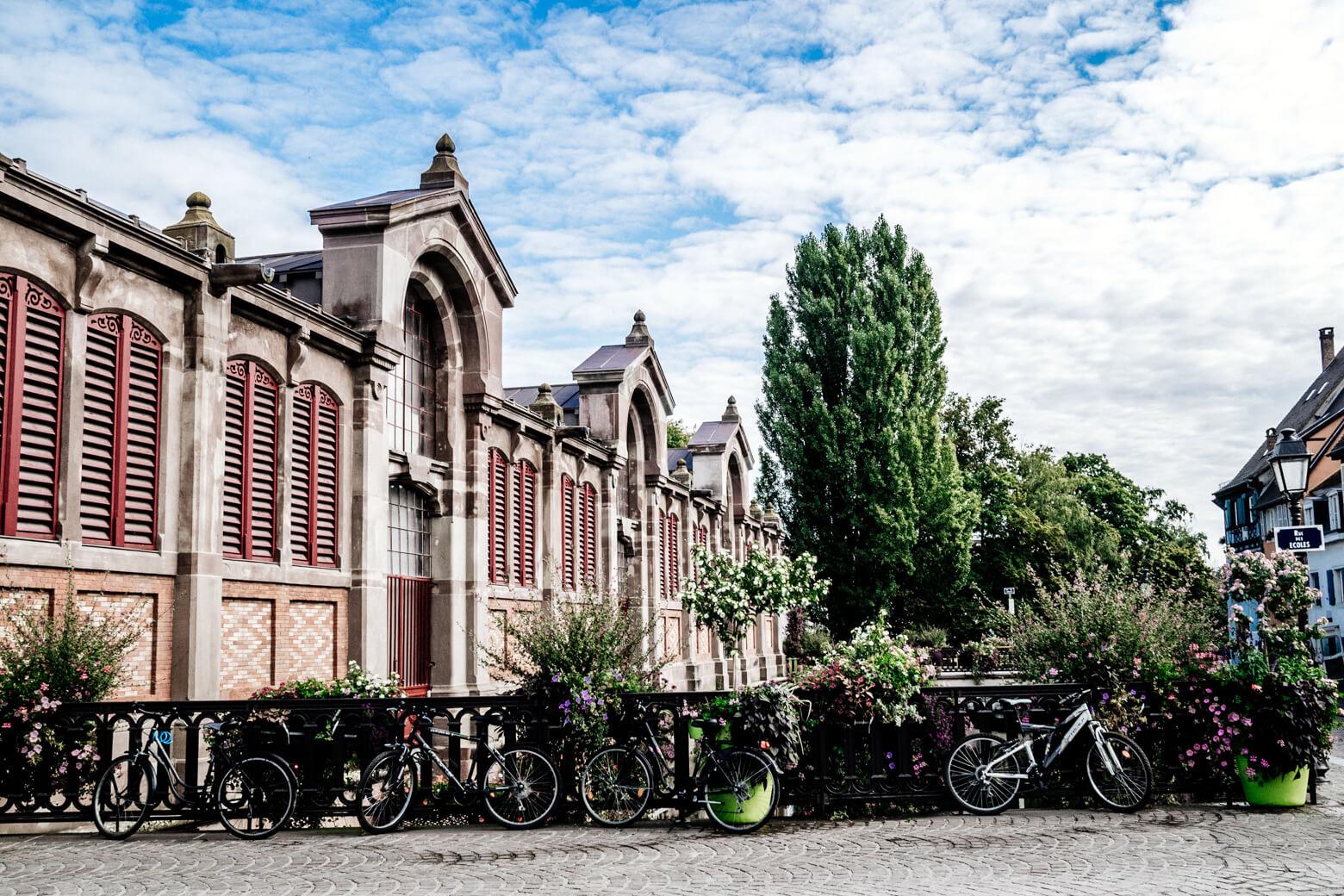 Bikes in Colmar