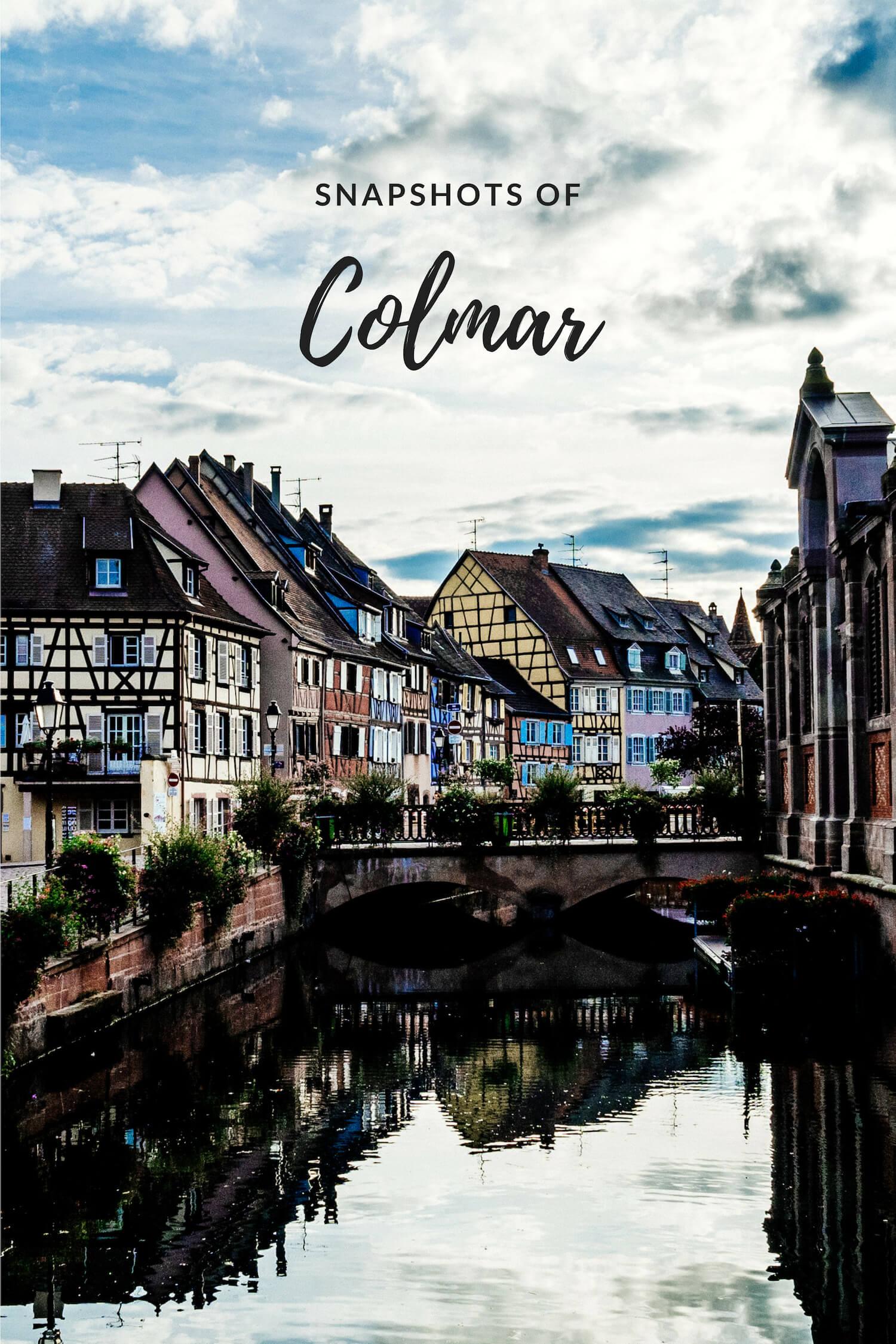 Snapshots of Colmar France
