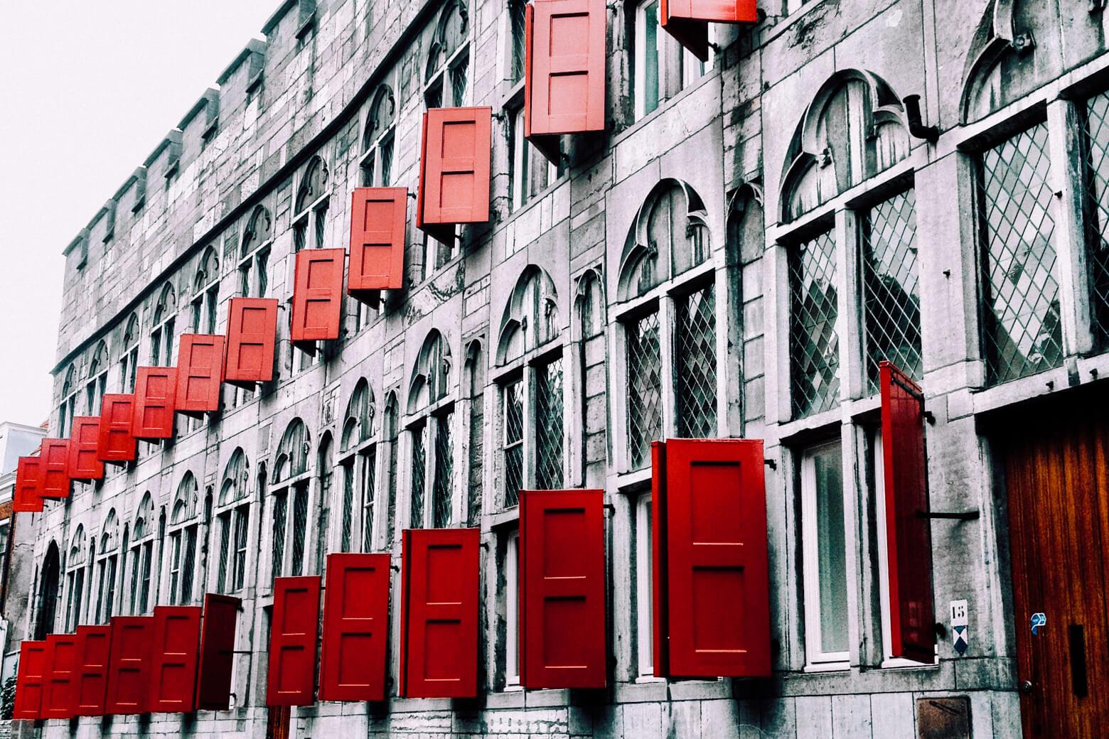 Utrecht Red Shutters