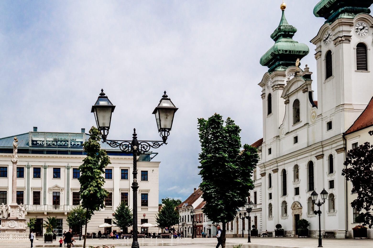 Szechenyi Square Gyor