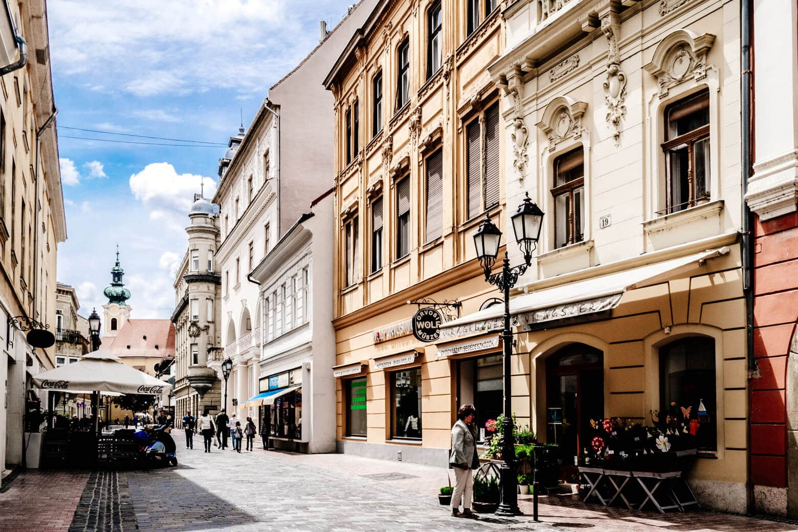 Gyor Old Town