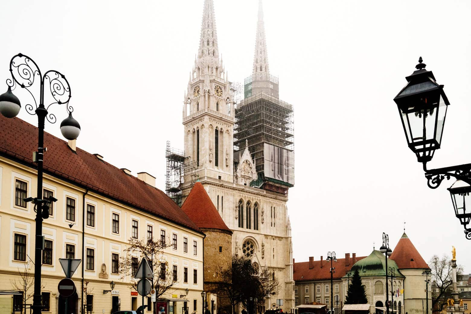 Zagreb in Winter