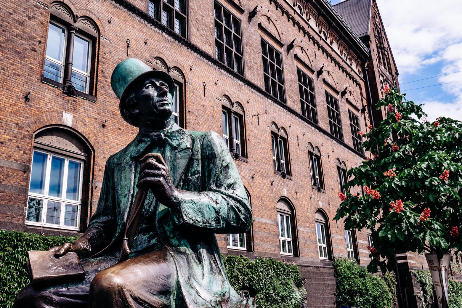 Hans Christian Andersen in Copenhagen