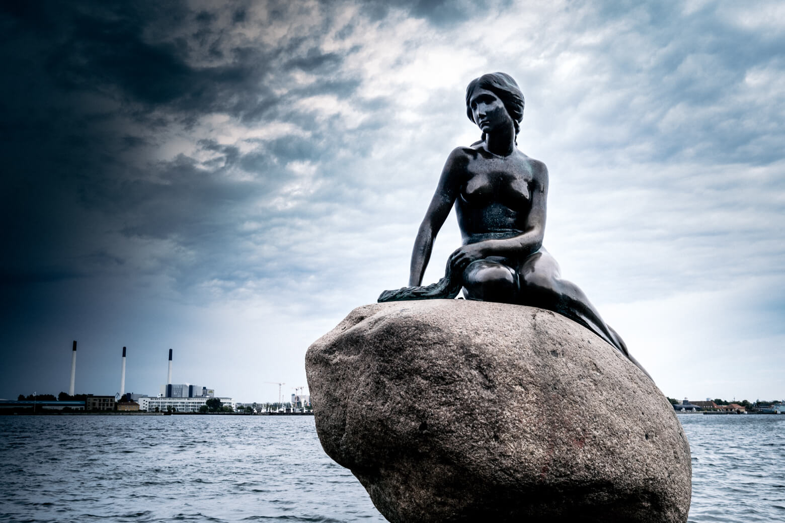 The Little Mermaid in Østerbro Copenhagen