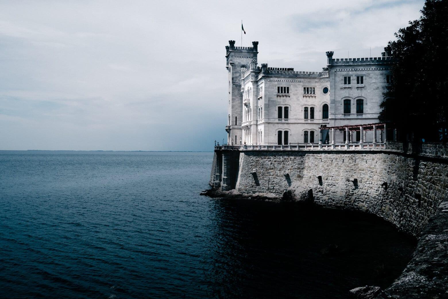 Trieste Miramare Castle
