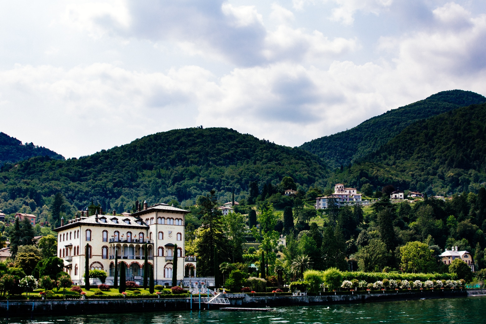Lake Como Lakeside Home